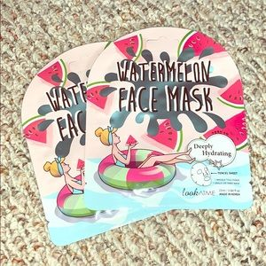 💕 NWT! 💕 WATERMELON SHEET MASKS (2 PACK)